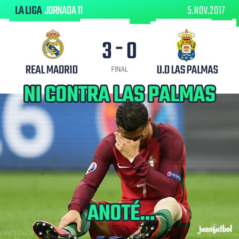 Real Madrid 3 - U.D Las Palmas 0