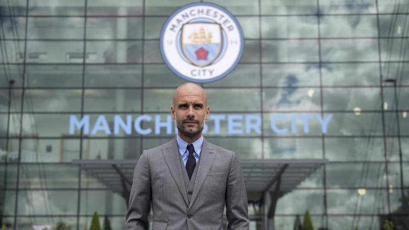 Guardiola en el City