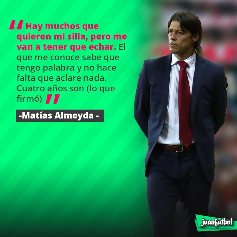 Almeyda se queda en Chivas