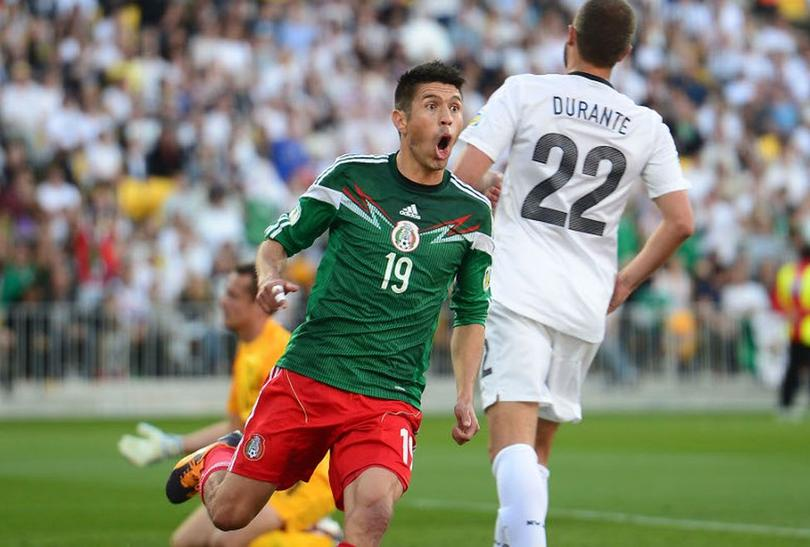 Oribe Peralta califica a México al mundial.