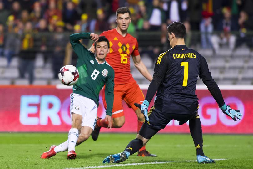 Bélgica vs México.