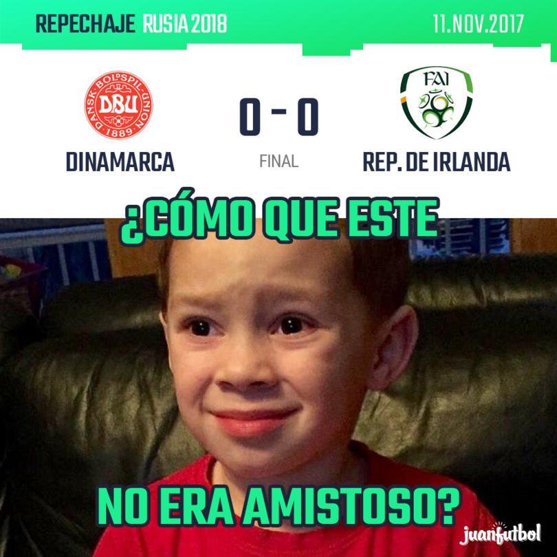 Dinamarca vs. Rep. De Irlanda