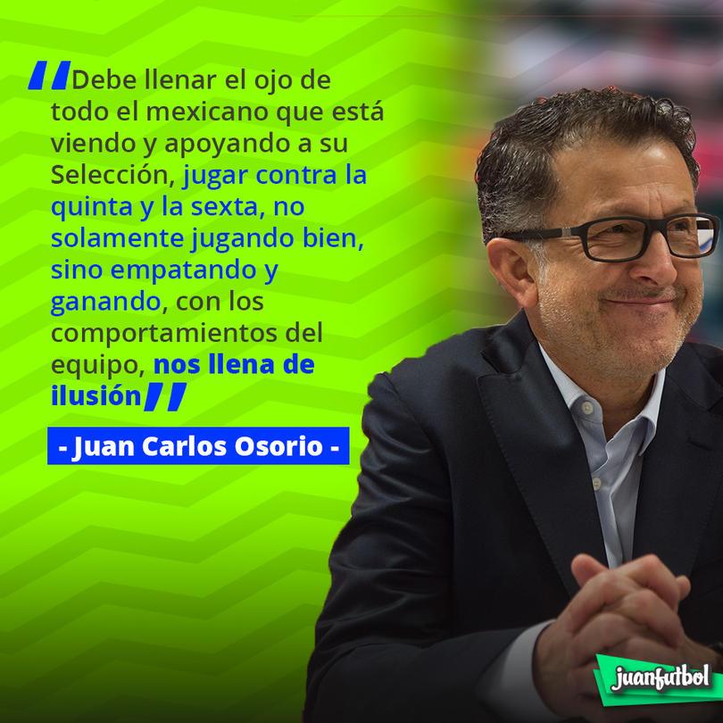 Palabras de Osorio
