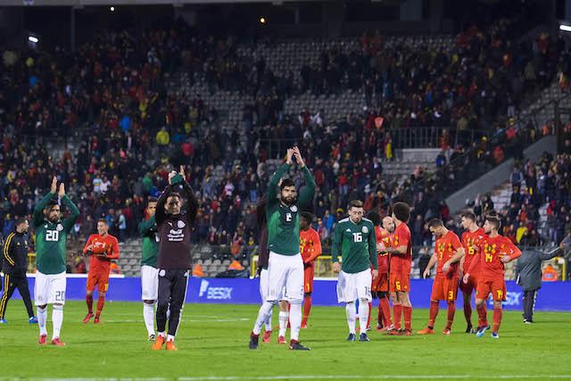 México vs Bélgica.