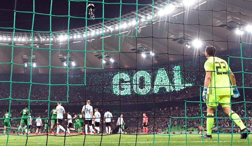 Marchesín tiene un mal inicio con Argentina.