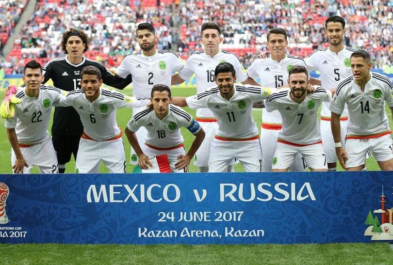México le ganó a Rusia en la Confederaciones