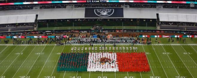 Raiders en México