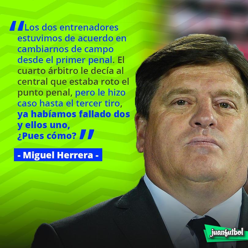 Las palabras de Miguel Herrera