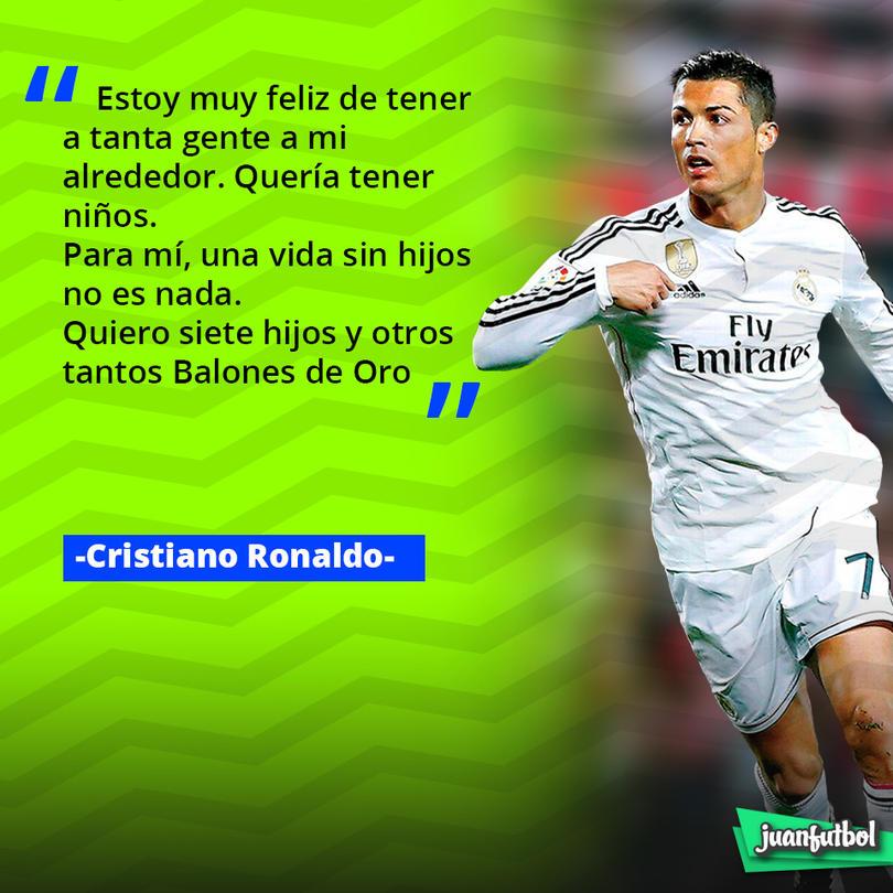 Cristiano Ronaldo habló de lo que quiere para el futuro.