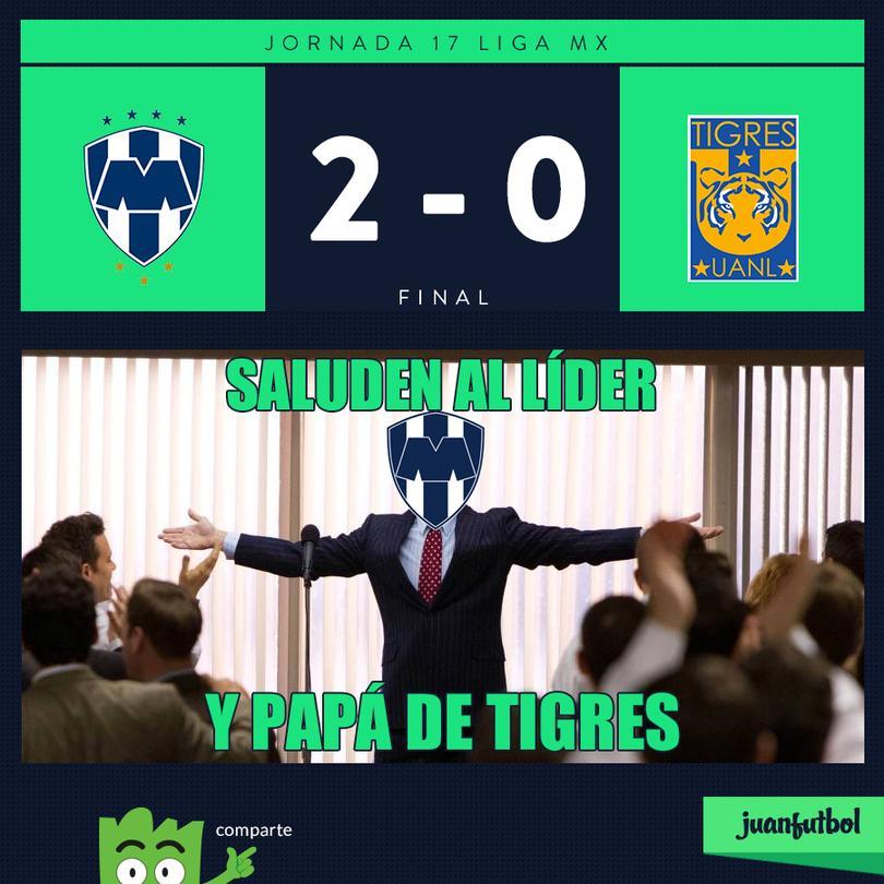Monterrey ganó el Clásico Regio