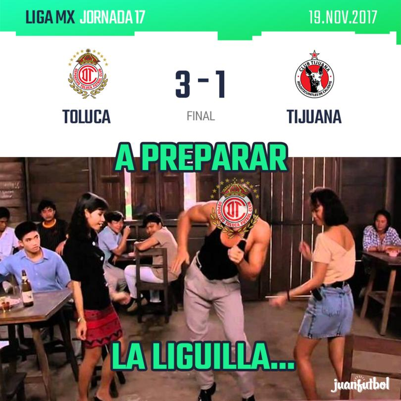 Toluca vs. Tijuana