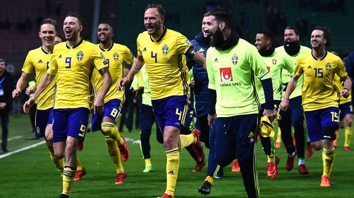 Suecia calificado a Rusia