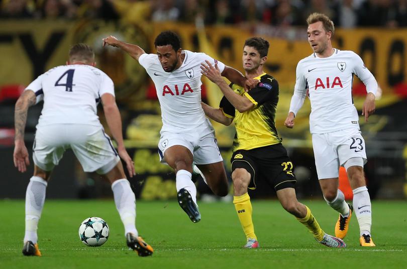 Dortmund recibió al Tottenham con esperanzas de calificarse