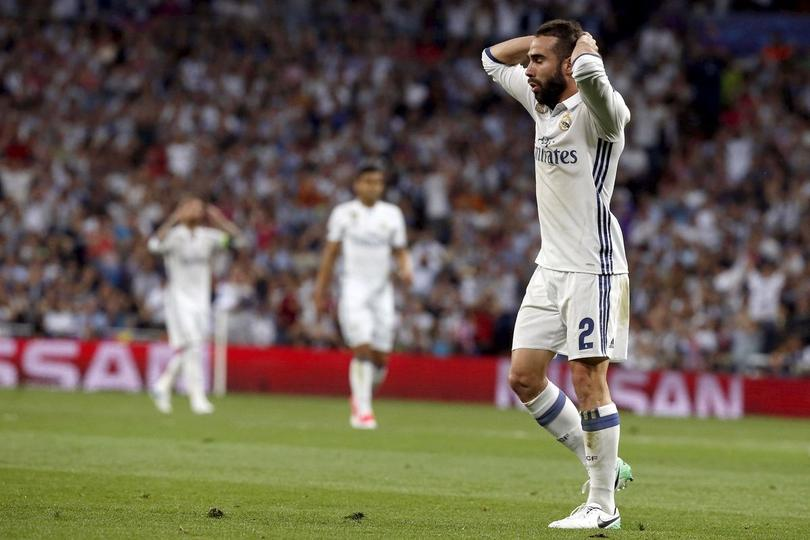 Dani Carvajal, defensa del Real Madrid