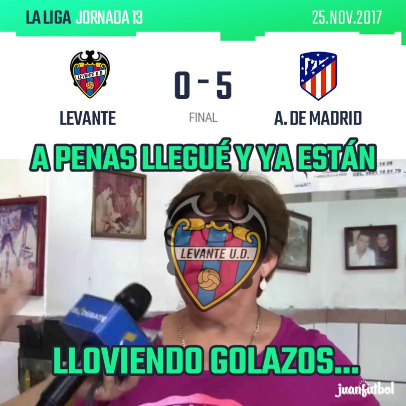 Levante vs. A. De Madrid