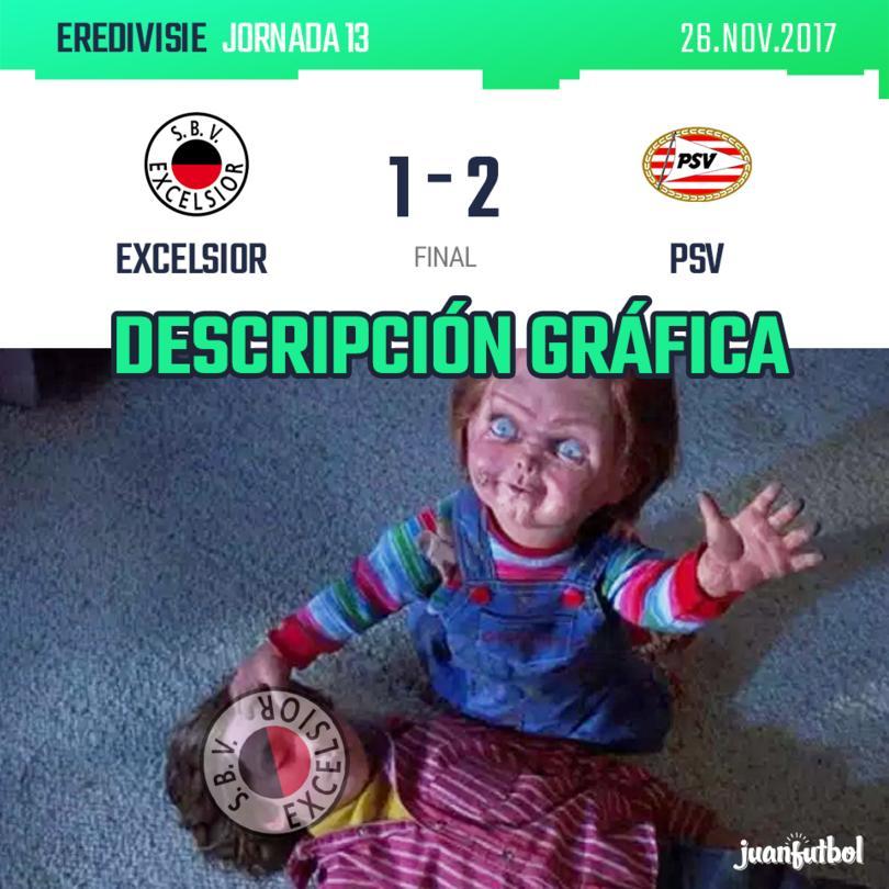 Excelsior vs. PSV