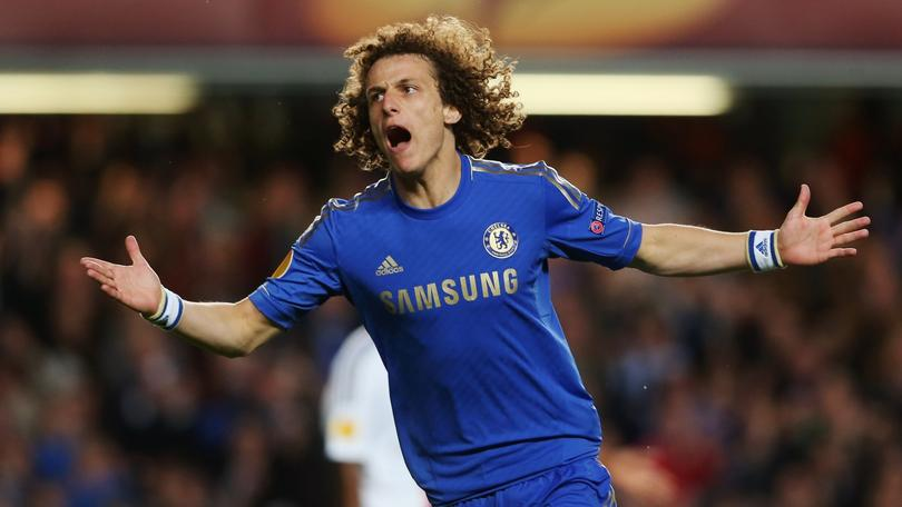 David Luiz rifa para el Real Madrid