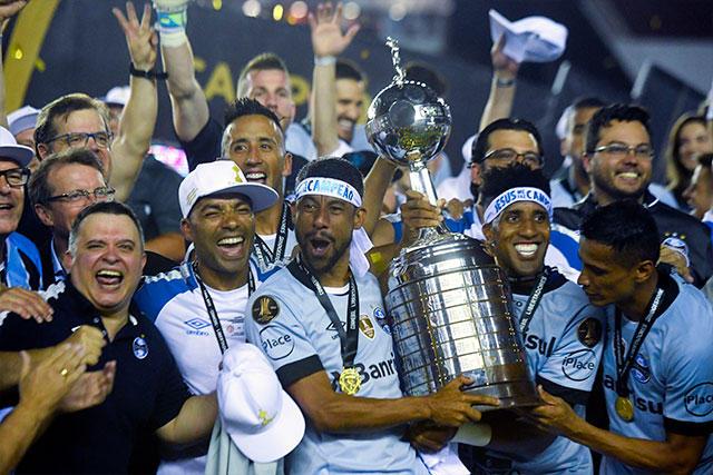 Gremio, campeón de la Copa Libertadores 2017