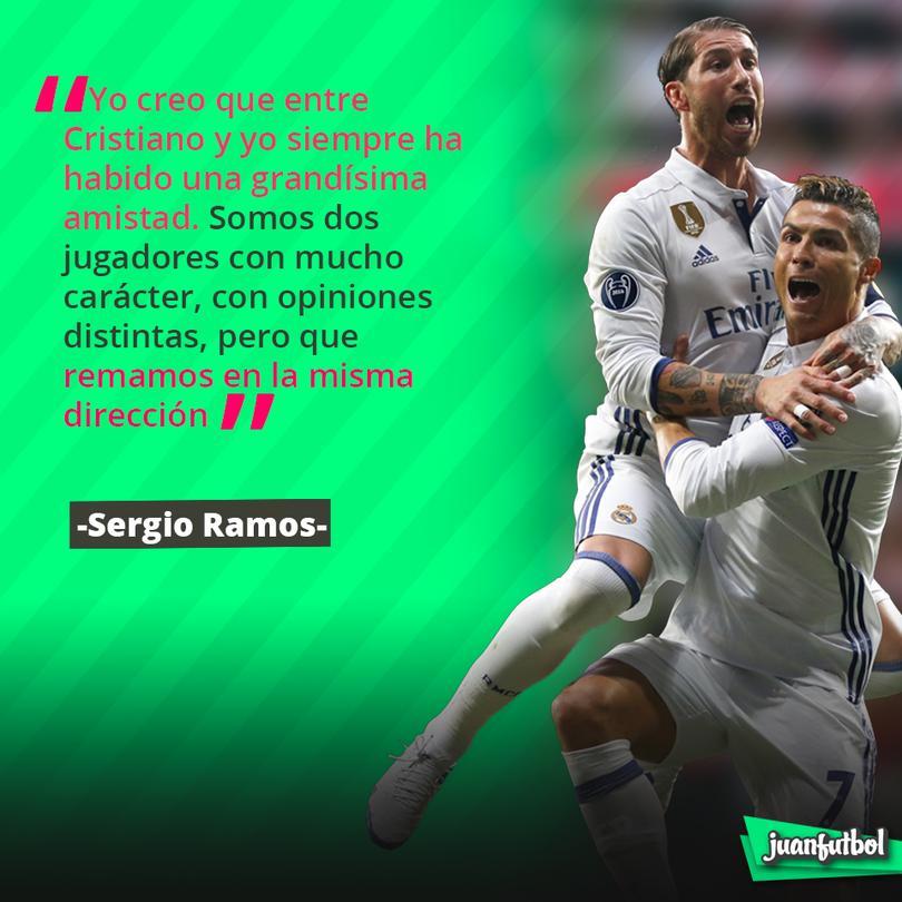 Entre Ramos y CR7 no hay problemas