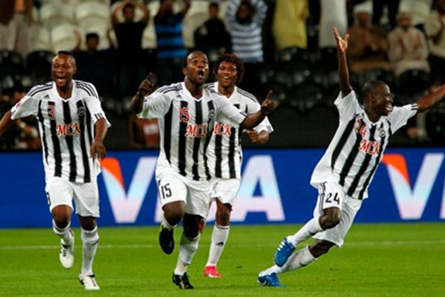 Mazembe tras vencer al Inter de Porto Alegre