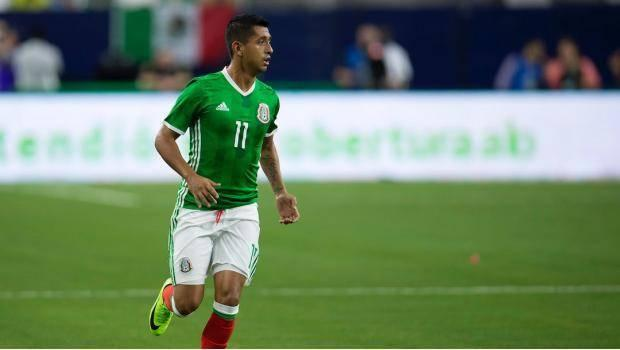 Elias Hernandez en la selección mexicana