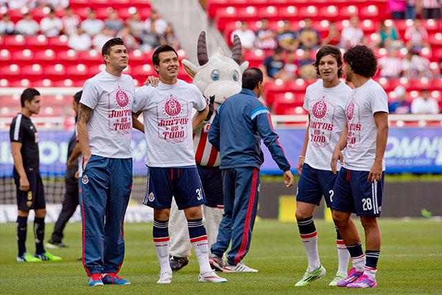Jugadores de Guadalajara.