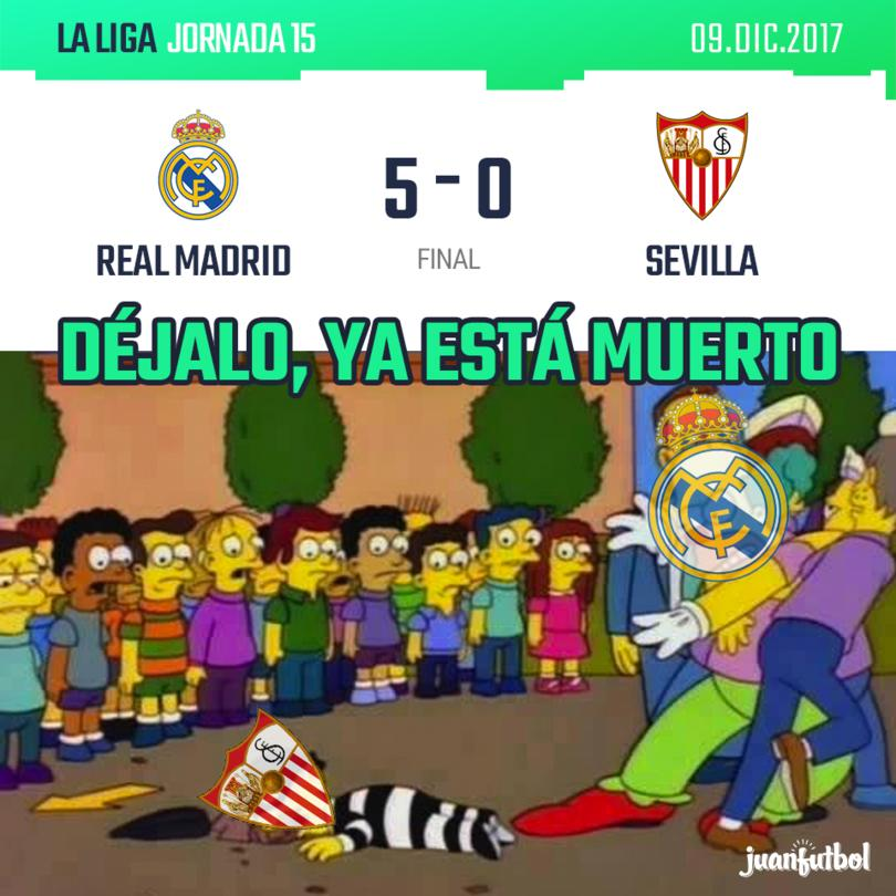 Real Madrid 5-0 Sevilla