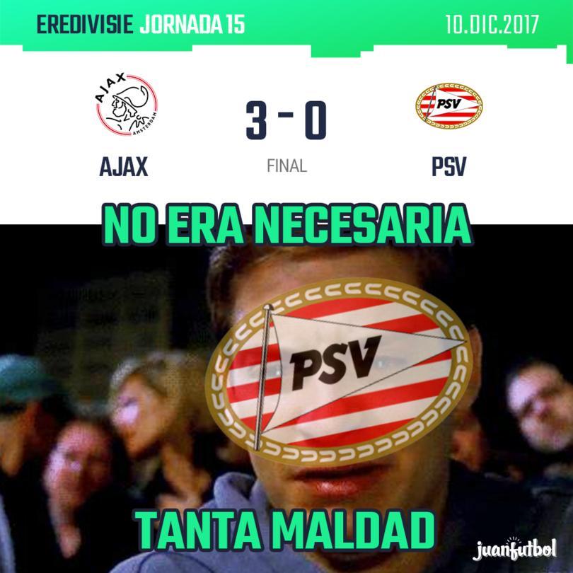 AJAX 3 - PSV 0