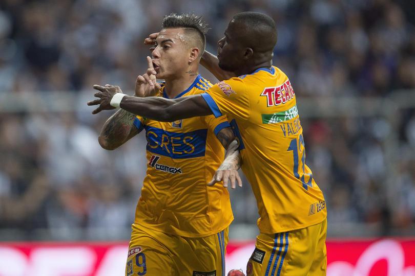 Gol de Edu Vargas