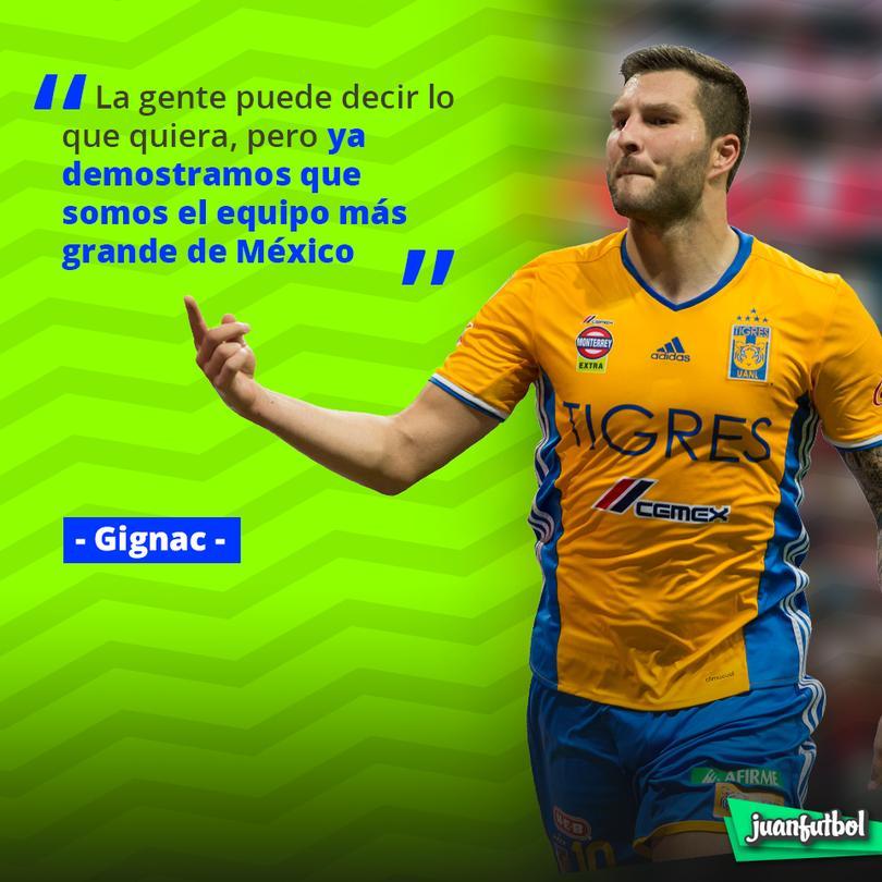Las palabras de Gignac