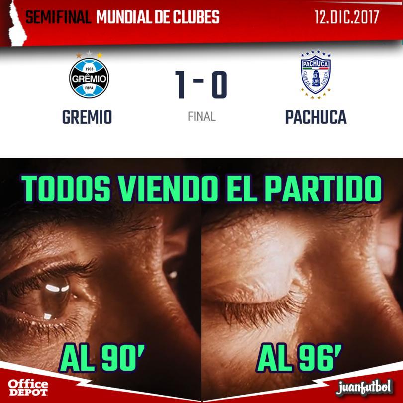 Gremio venció al Pachuca