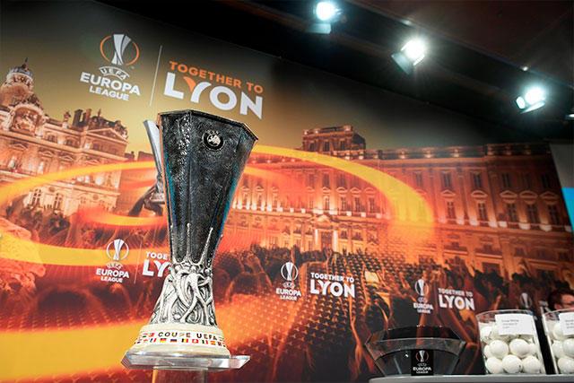 Trofeo de la UEFA Europa League.