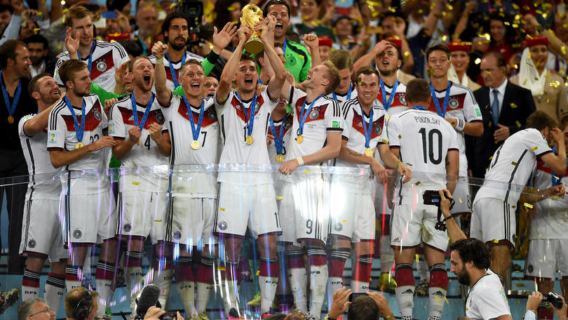 Alemania campeón del mundo