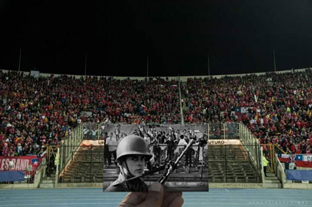 Estadio Nacional de Chile.