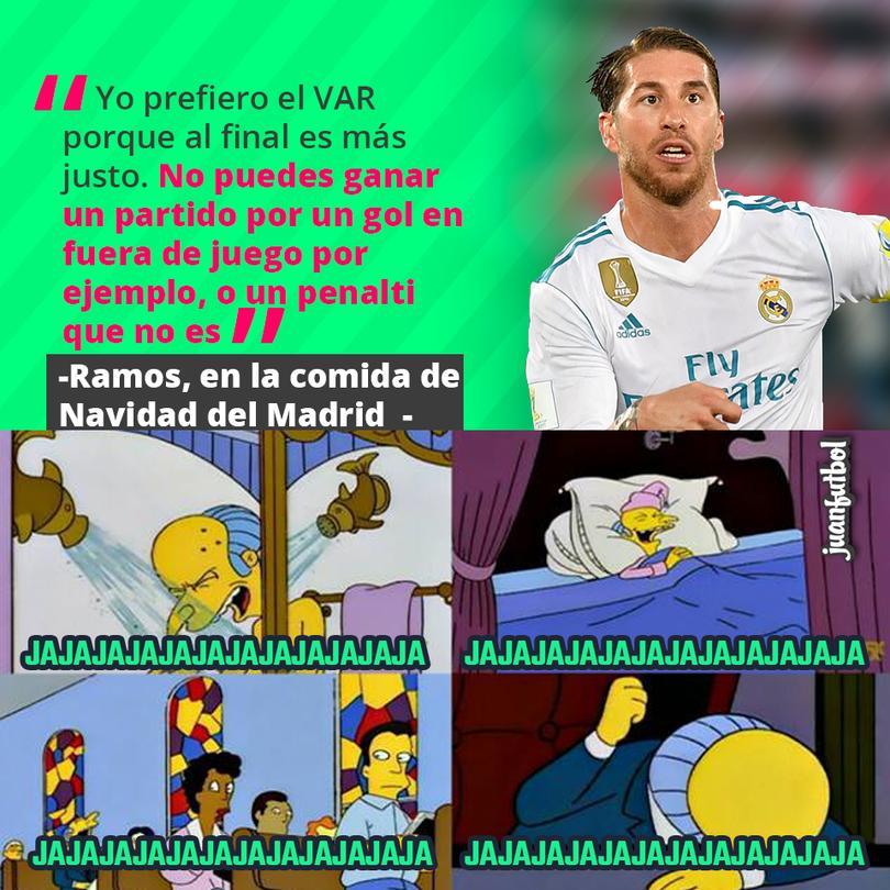 Ramos dice que prefiere el VAR porque es más justo