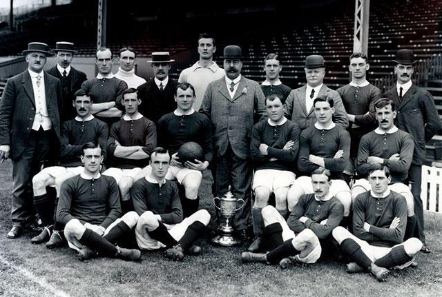 Manchester United en 1915
