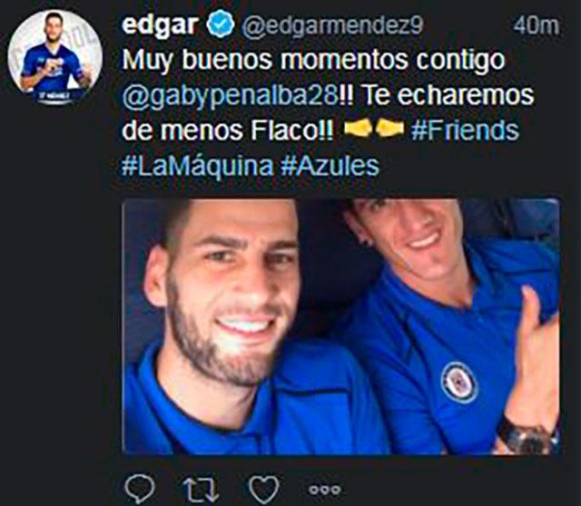 Mensaje de Edgar Méndez