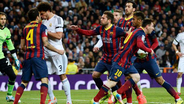 Fábregas y Pepe se encaran