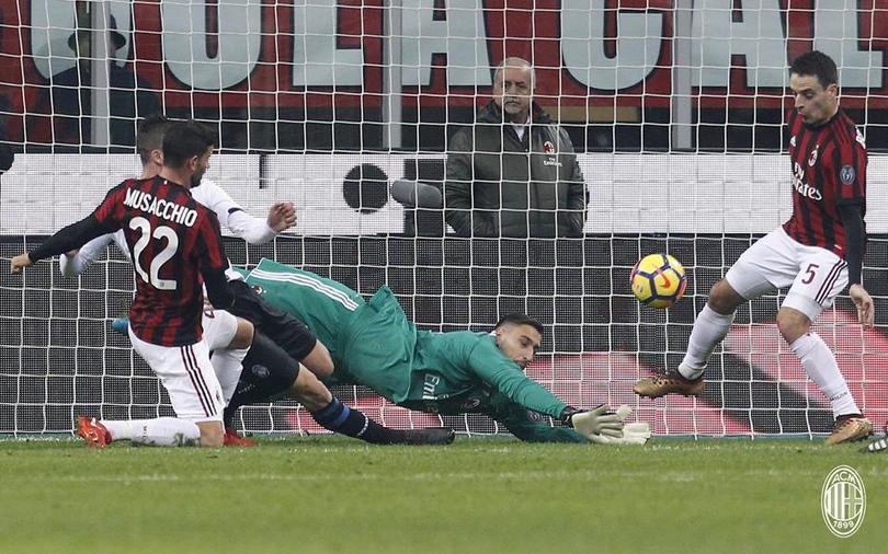 Milán contra Atalanta