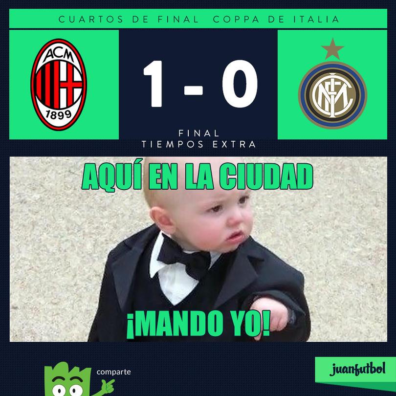 Resultado del Partido de los 4tos de final de la copa italiana