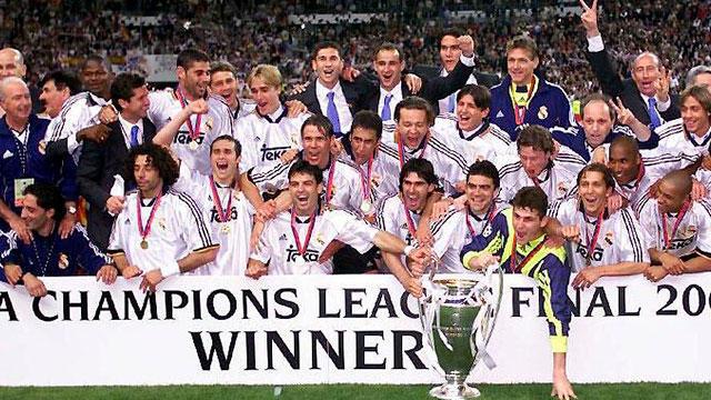 Real Madrid, campeón de Champions League en el 2000