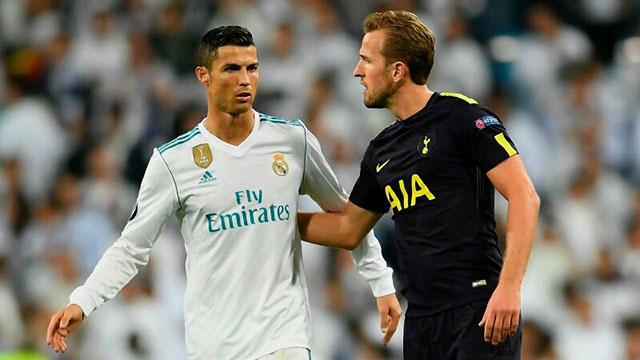 Cristiano Ronaldo y Harry Kane