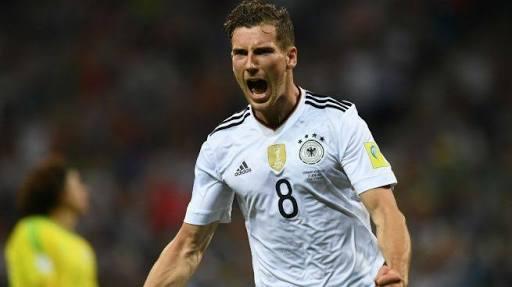 Leon Goretzka jugador del Schalke.