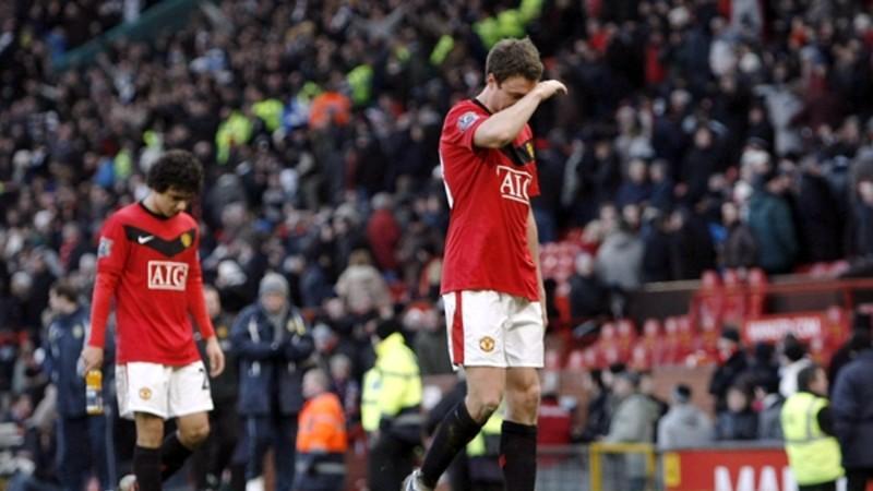 El equipo de Alex Ferguson no pudo