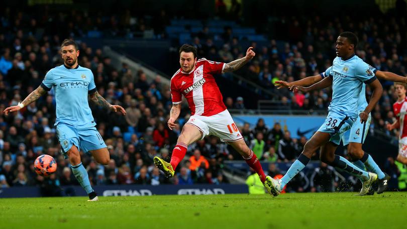 Middlesbrough venció al Manchester City en el Etihad Stadium