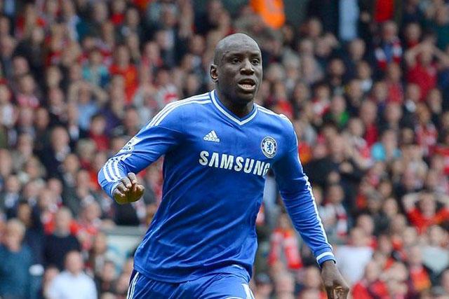 Demba Ba en su etapa con el Chelsea