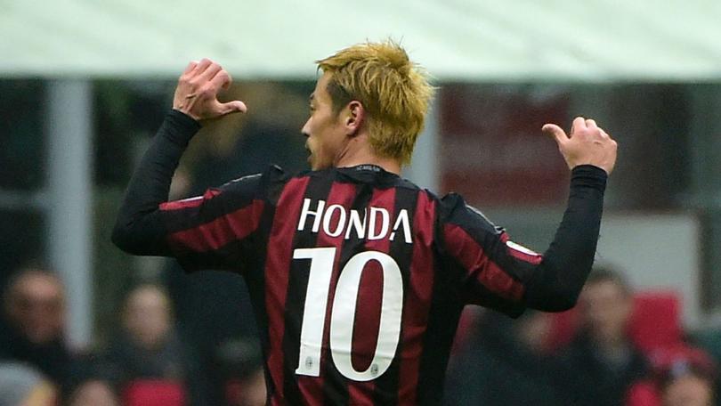 Keisuke Honda-Milan