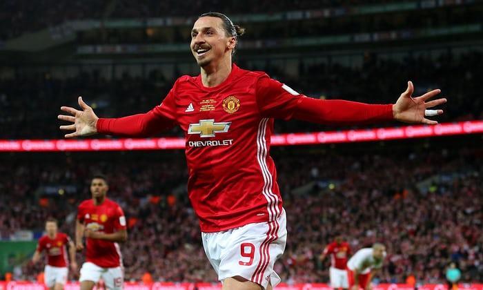 Zlatan Ibrahimobic- Manchester United