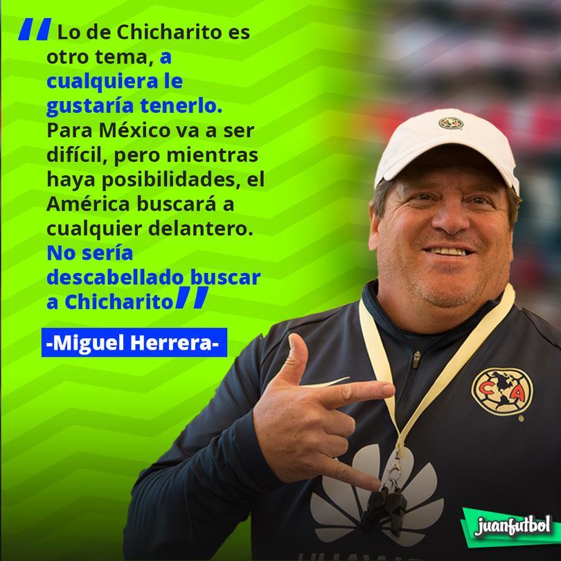Declaraciones de Miguel Herrera