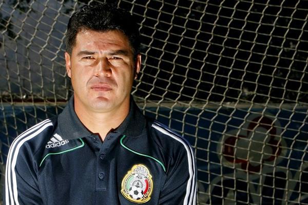 Juan Carlos Chavez en la seleccion sub-20 de México